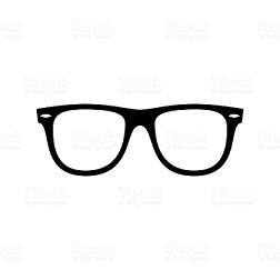 Sunglasses icon. Black, minimalist icon isolated on white background.