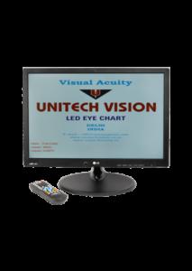 Visual Acuity LED Chart