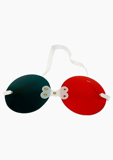 Diplopia Goggle with Red Green filter
